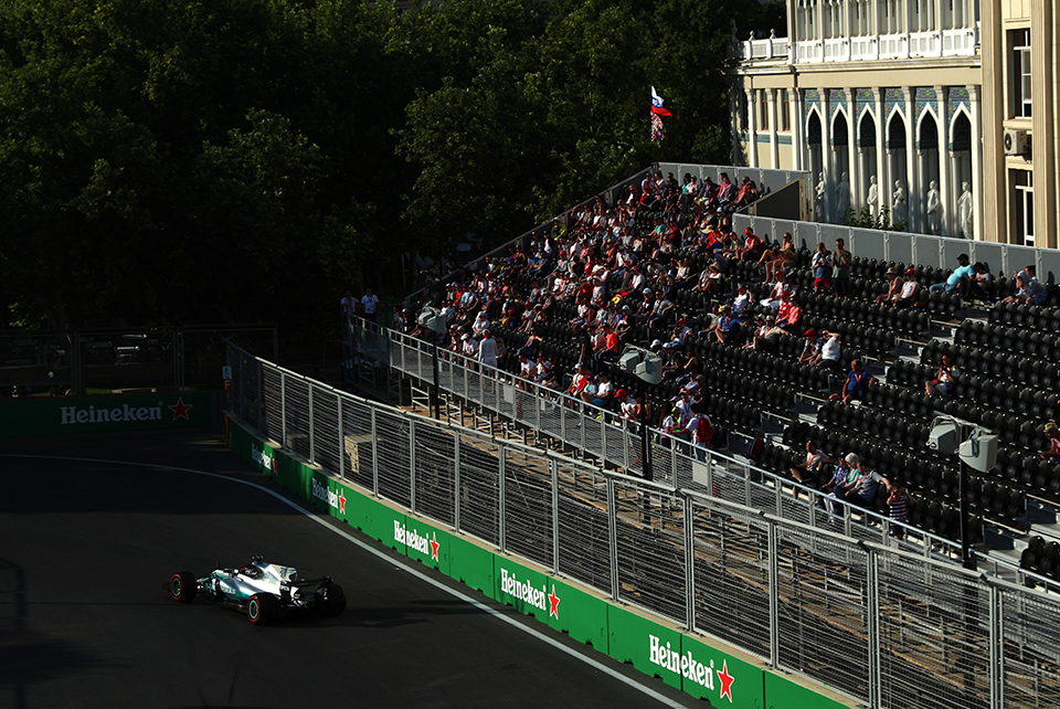 This is the place where Baku's history meets F1.